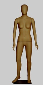 Female Orb Head Mannequin - A Arms