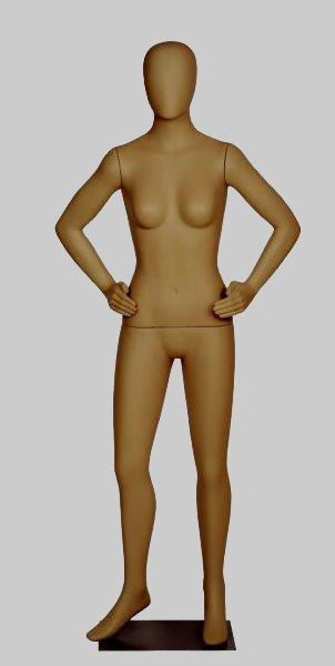 Female Orb Head Mannequin - D Arms