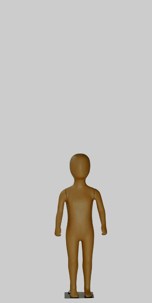 1-2 Year Orb Head Mannequin - A Arms