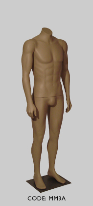 Male Mannequin Headless - Arm Pose A